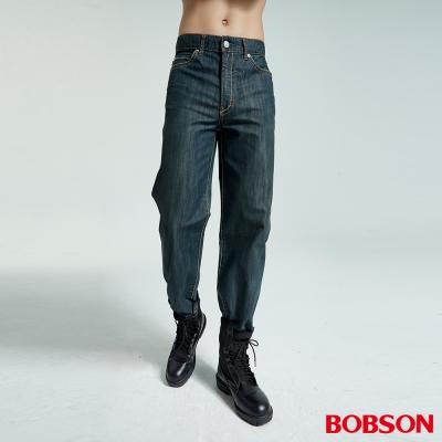 男款小尻革命大直筒牛仔褲(深藍77)