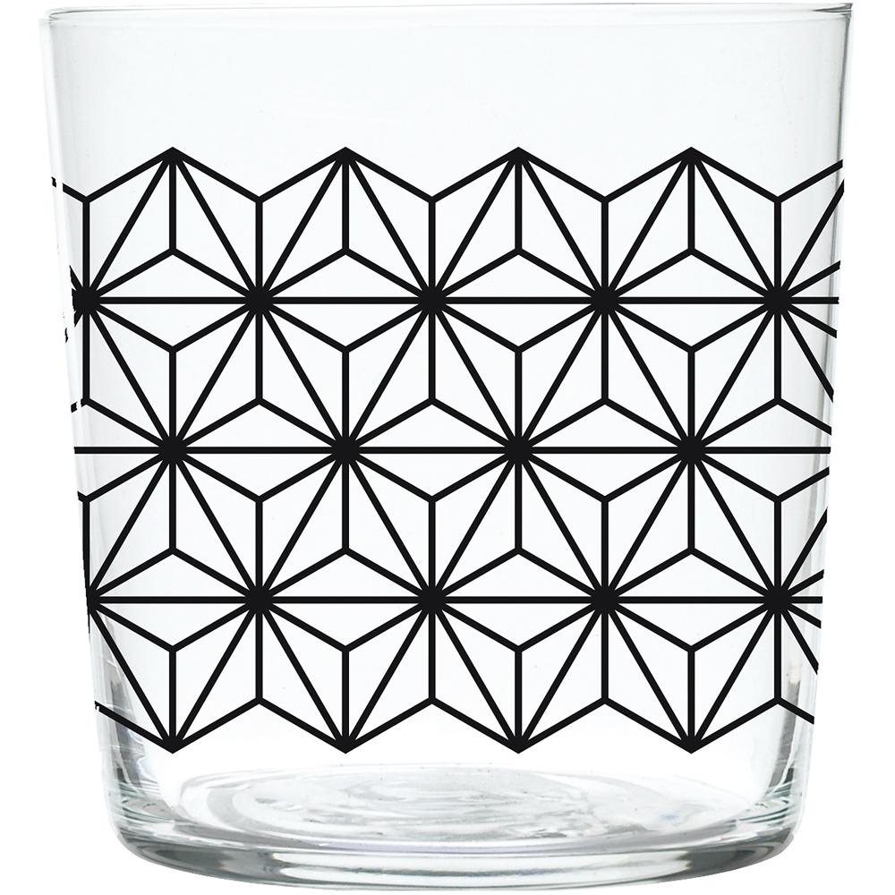 EXCELSA Maga玻璃杯(墨黑370ml)