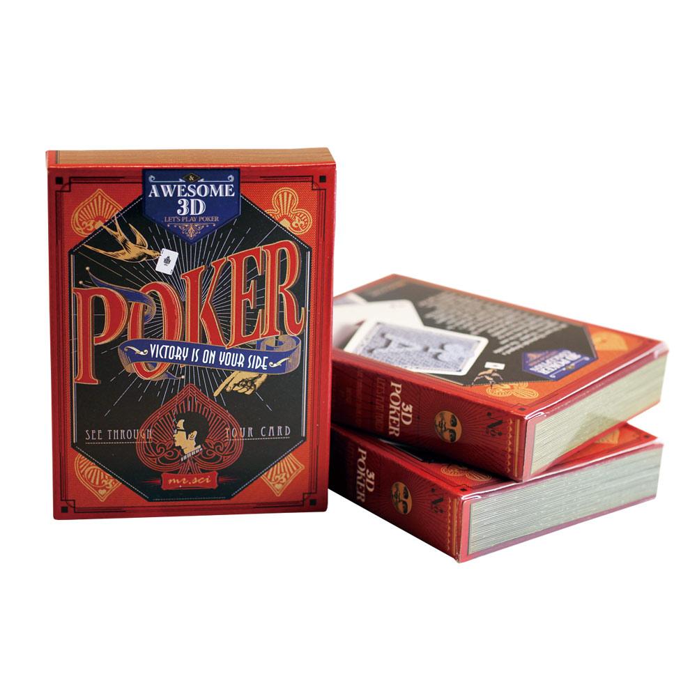 賽先生科學 3D透視撲克牌Awesome 3D Poker