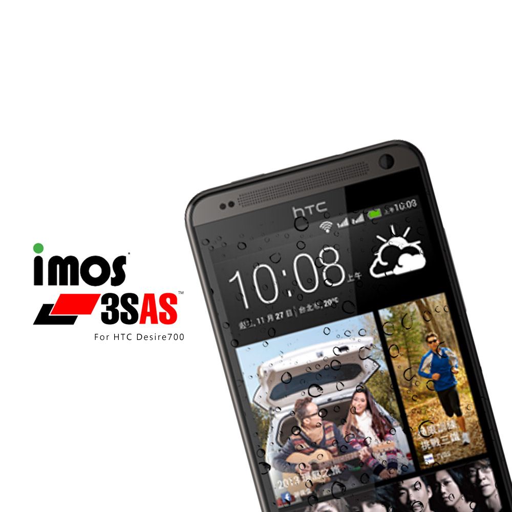 iMos-HTC Desire 700 超疏水疏油保護貼 @ Y!購物