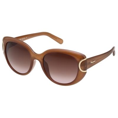 Salvatore Ferragamo  太陽眼鏡 (咖啡色)SF853SK