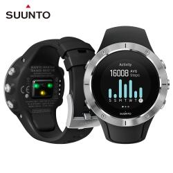 SuuntoSpartanTrainerWristHR全方位訓練的GPS運動腕錶-精鋼黑