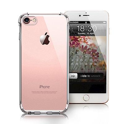 Xmart for iPhone 8 / i7 清透高質感TPU+PC手機保護殼...