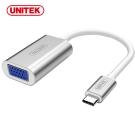 UNITEK 優越者USB3.1 Type-C轉VGA轉換器