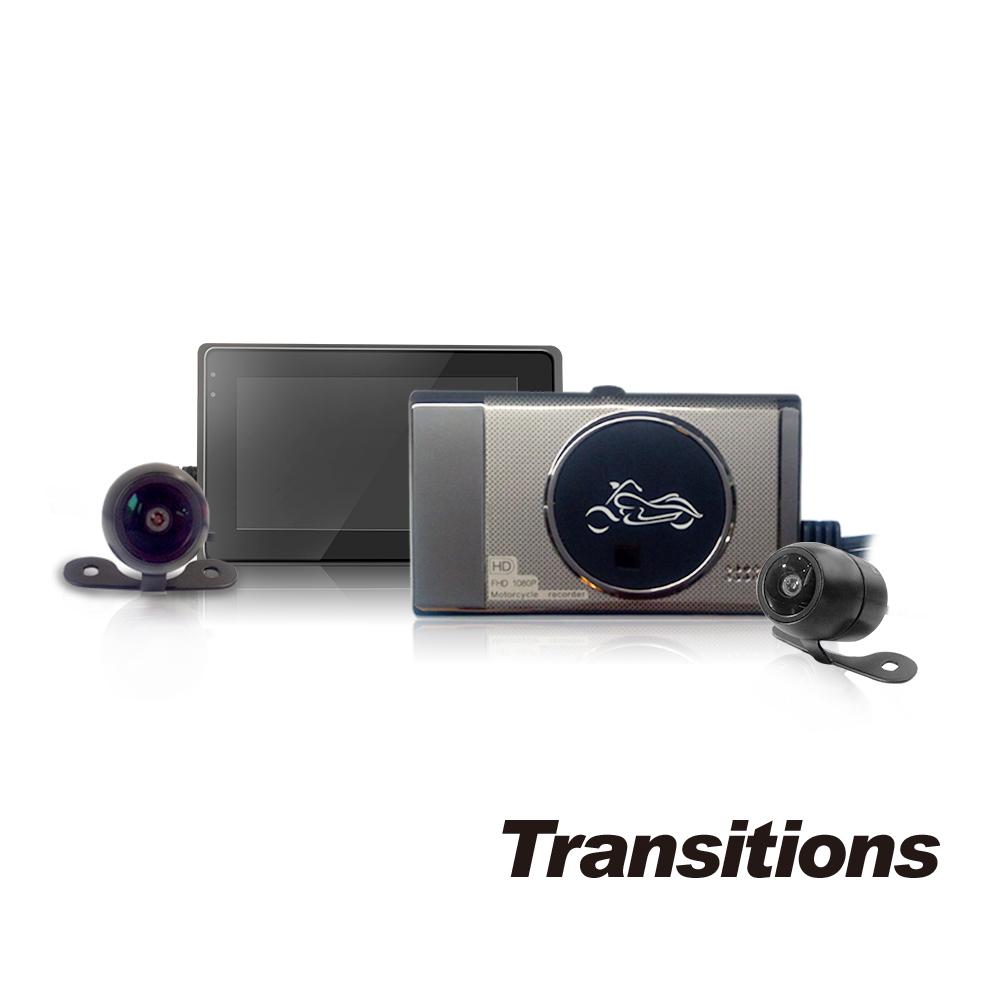 【凱騰】全視線 PX1000 1080P雙鏡頭高畫質機車行車記錄器 @ Y!購物