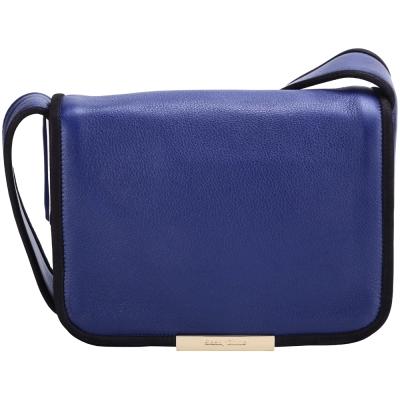 SEE BY CHLOE Aster 滾邊設計肩背包(藍色)