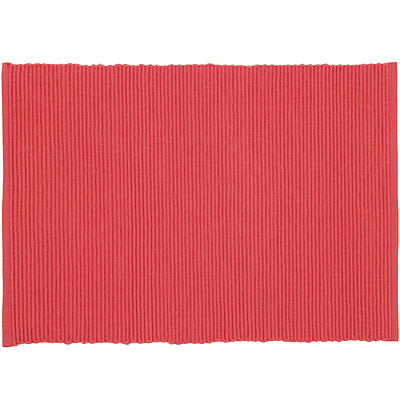 NOW 素色織紋餐墊(檀香紅)