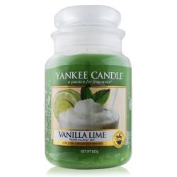 YANKEE CANDLE香氛蠟燭-香草檸檬623g
