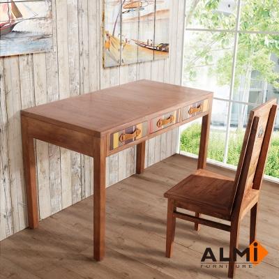 ALMI-DESK 3 DRAWERS 三抽書桌W120*D60*H76CM