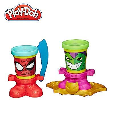 Play-Doh培樂多 迪士尼公主遊戲組-蜘蛛人與綠惡魔