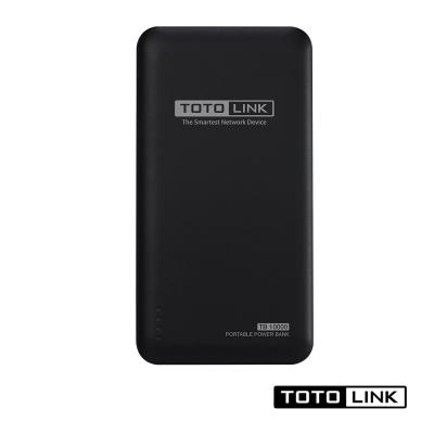 TOTOLINK 10000mAh 超薄快充行動電源 TB10000 黑