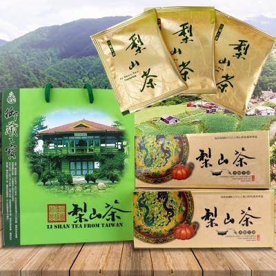 醒茶莊 台灣精選-梨山高山袋茶(微顆粒)2盒(30袋/盒)(附提袋)