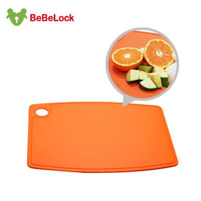 BeBeLock離乳食幼兒砧板(橘)