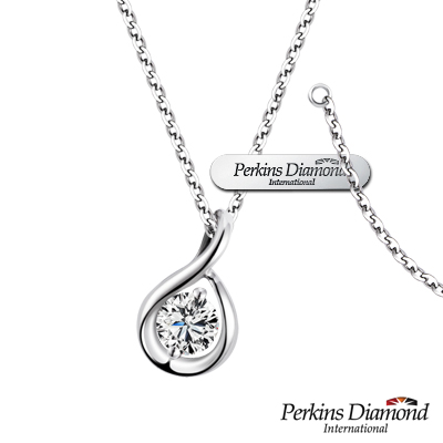 PERKINS 伯金仕 - Hug系列 0.14克拉鑽石項鍊