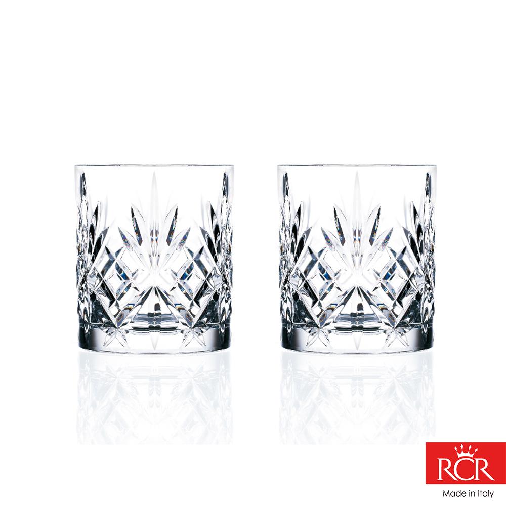 義大利RCR梅洛迪 無鉛水晶威士忌杯 (2入)310cc