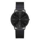 ZOOM THIN 極簡超薄腕錶-黑  /42mm