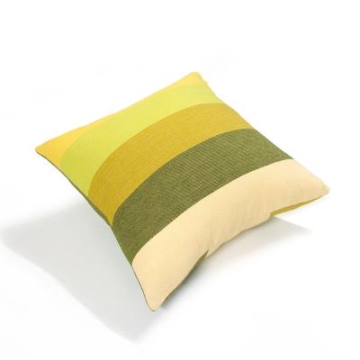 布安於室-色塊抱枕1入(含枕心)-黃綠色系
