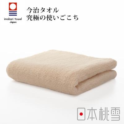 日本桃雪今治毛巾-咖啡色