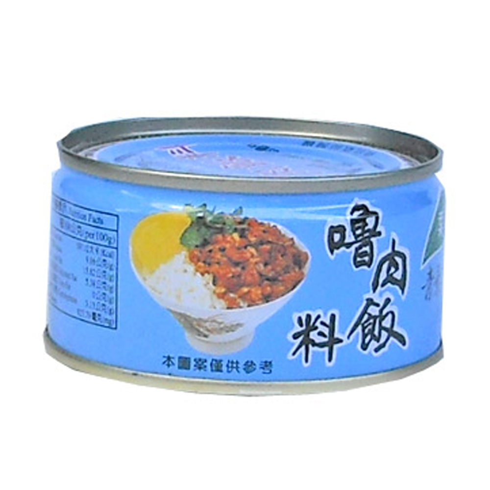 青葉  魯肉飯料(110gx3罐)