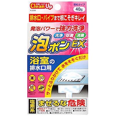 紀陽 浴室排水口泡沫清潔劑(40g)