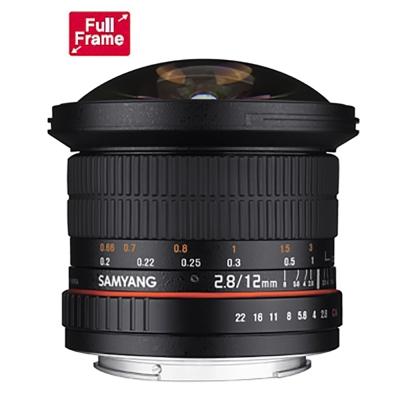 SAMYANG 12mm F2.8 ED AS NCS Fish-eye FOR Canon