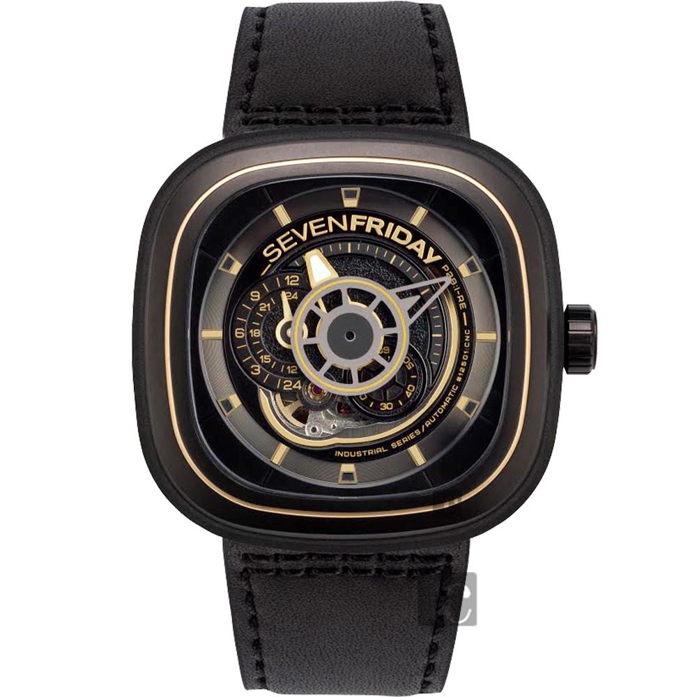 SEVENFRIDAY P2B-2 解構世界自動上鍊機械錶-47mm