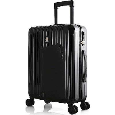 SWISSMOBILITY 瑞動 熊本熊20吋PC耐撞TSA海關鎖行李箱/旅行箱(黑色)
