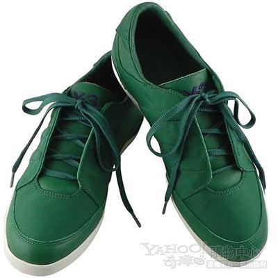 Y-3山本耀司 綠色短筒經典三線休閒鞋
