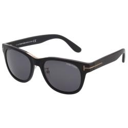 TOM FORD 帥氣中性款 太陽眼鏡-黑色-TOM9257-02A