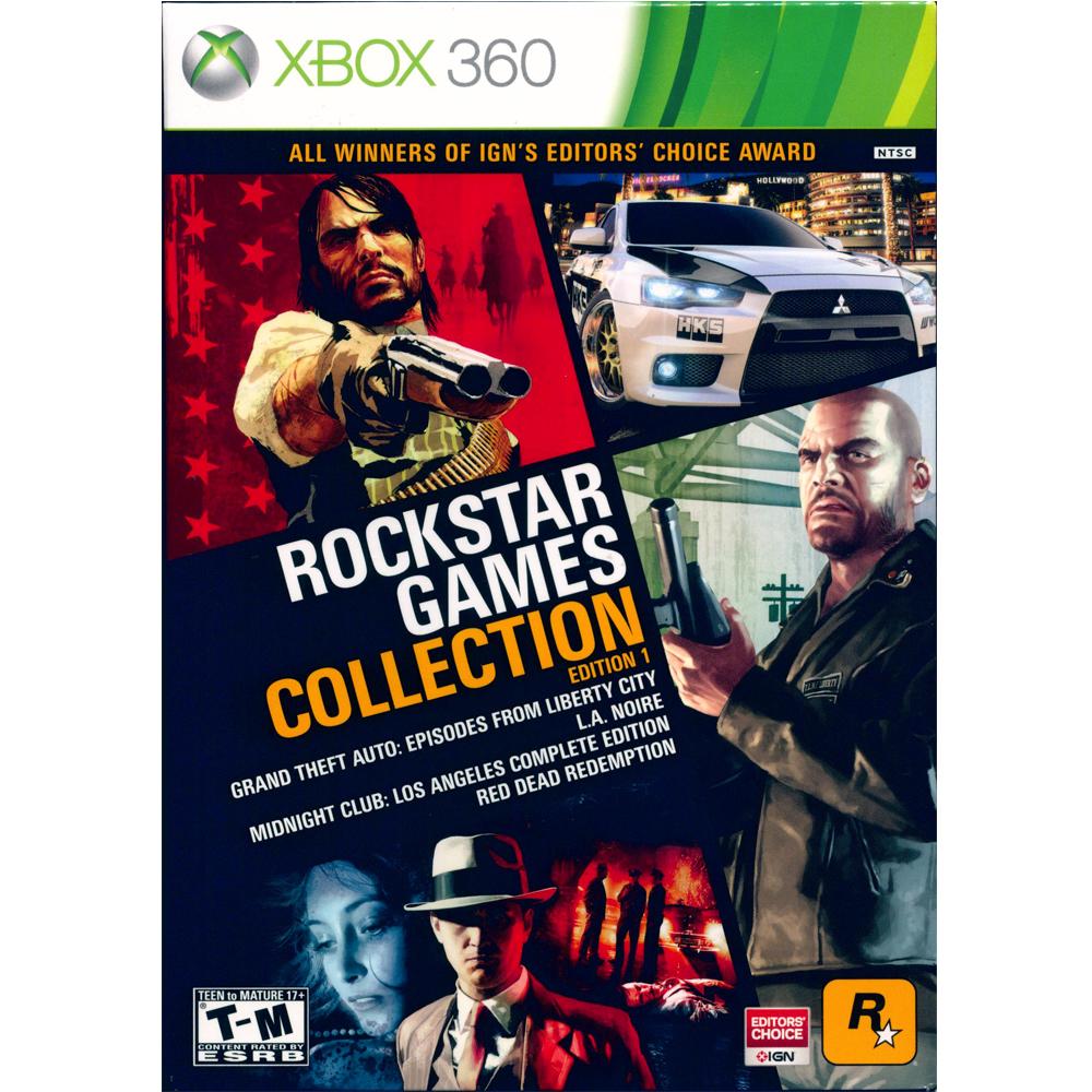 Rockstar經典合輯-XBOX360英文美版