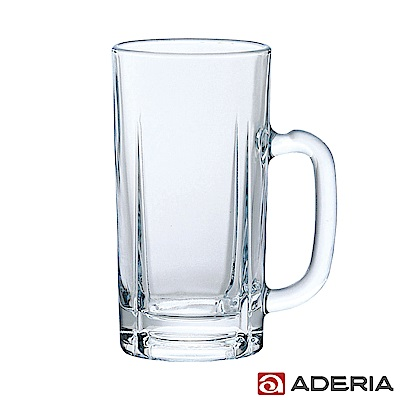 ADERIA 日本進口玻璃啤酒杯 800ml - 豪飲款