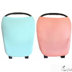 Copper Pearl 美國 素色系列哺乳巾/座椅套 多功能二用款