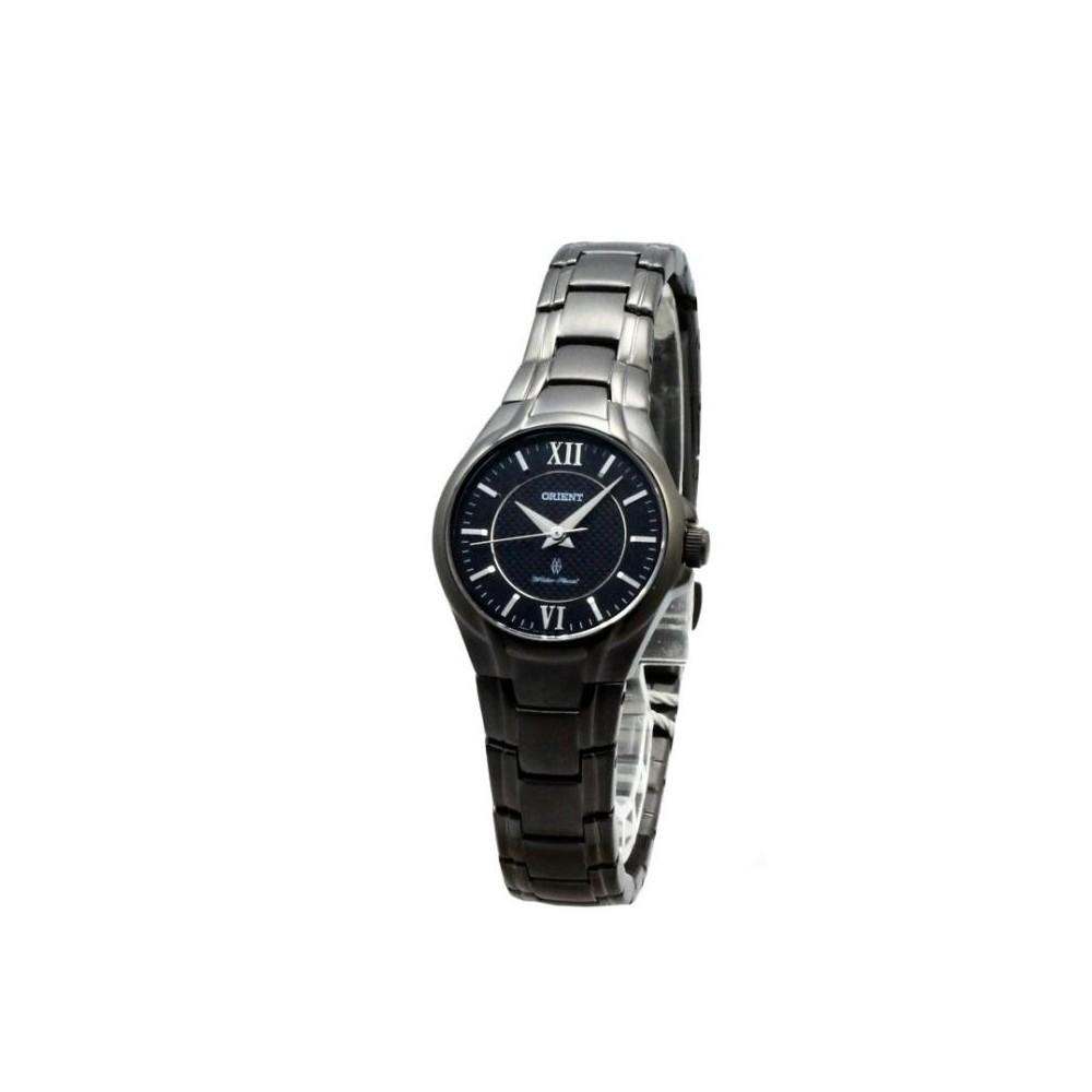 ORIENT 東方典藏羅馬石英腕錶-IP黑/27mm