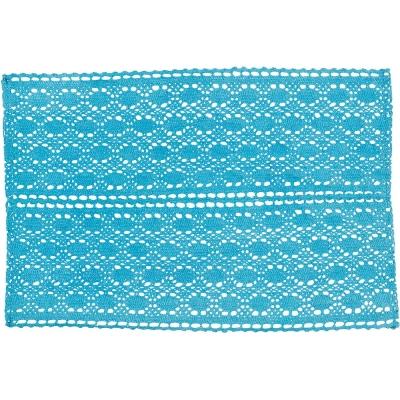 NOW 鉤針餐墊(藍)