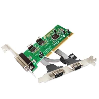 伽利略 PCI  RS 232+Print  卡