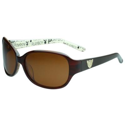 PLAYBOY-時尚太陽眼鏡(紅色)PB83056