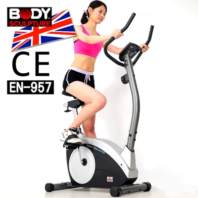 【BODY SCULPTURE】數位磁控健身車(安規認證)