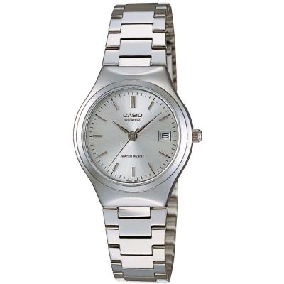CASIO 時尚精緻小巧淑女日曆腕錶(LTP-1170A)-白面/26mm