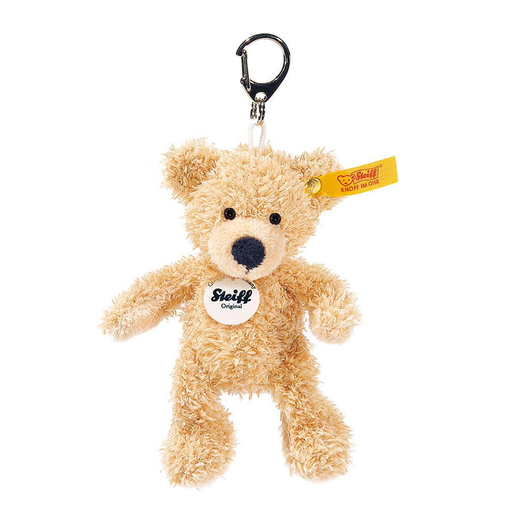STEIFF德國金耳釦泰迪熊 - Fynn Keyring (經典吊飾)