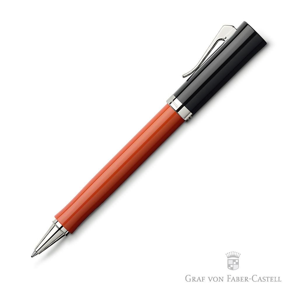GRAF VON FABER-CASTELL 直覺系列陶土紅鋼珠筆