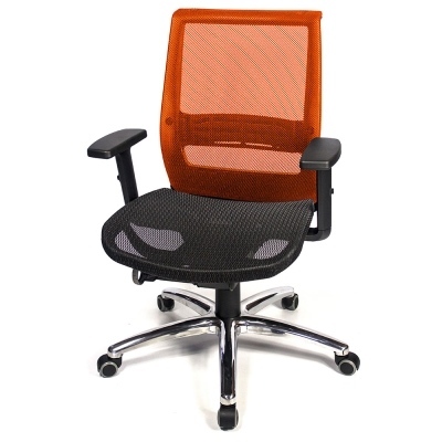 aaronation 愛倫國度-專利椅座鋁合金腳電腦椅-五色可選AM-947