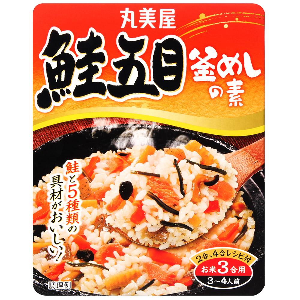 丸美屋 釜飯料-鮭魚五目(170g)