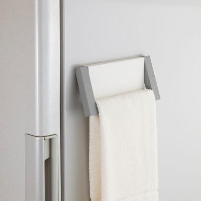日本Belca磁吸式毛巾架-白彩