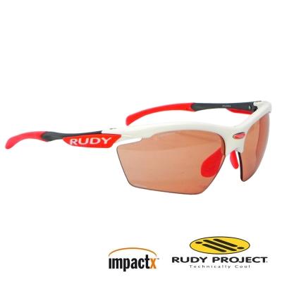 【Rudy Project】Agon ImpactX 專業運動眼鏡/白框+變色紅片