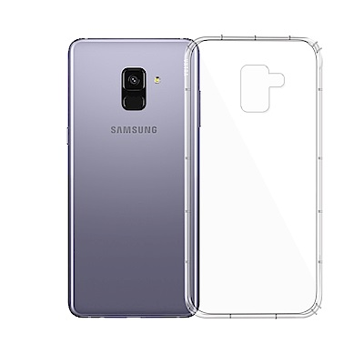 VXTRA Samsung Galaxy A8+(2018) 防摔抗震氣墊保護殼