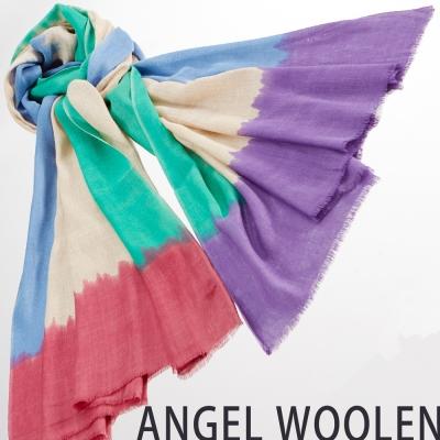 【ANGEL WOOLEN】渲染風情MODAL披肩(渲)