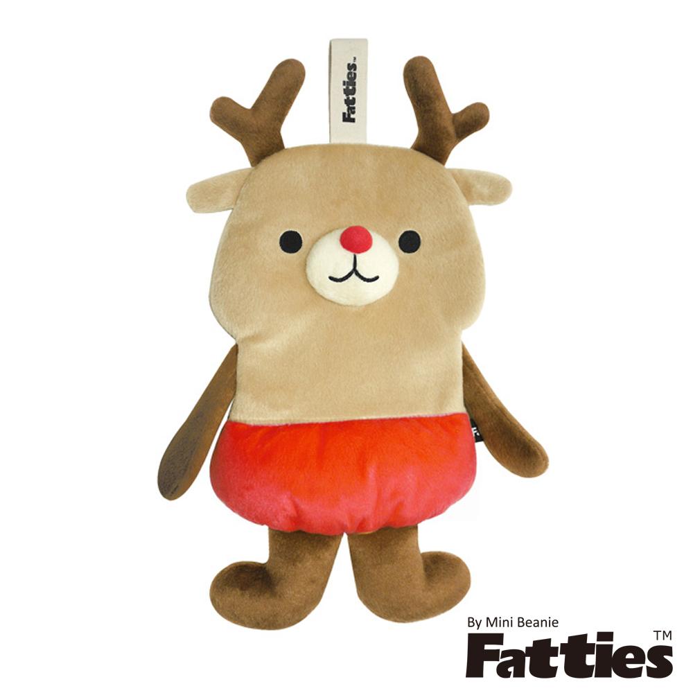 Fatties熱水袋熱敷袋樂觀麋鹿Reindeer動物玩偶