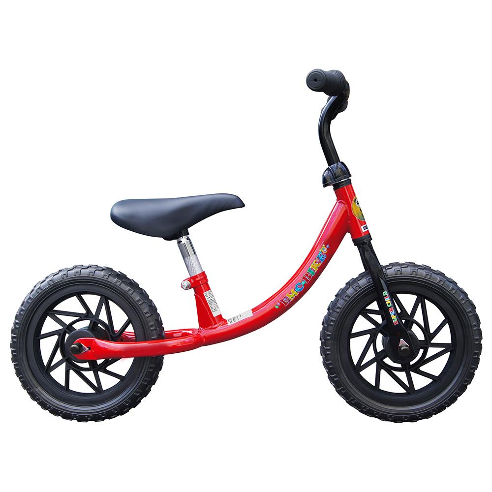 EMC 12吋兒童滑步車(紅色/水藍色)