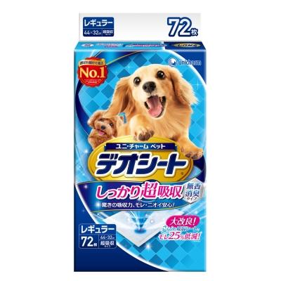 日本Unicharm消臭大師 超吸收狗尿墊(M)(72片)