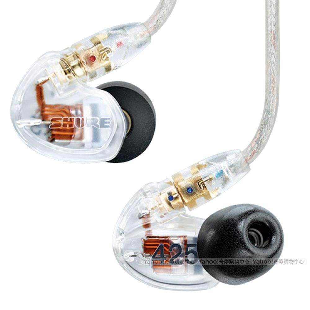 SHURE 耳機 SE425 CL 透明版 二單體 可換線 耳道式耳機